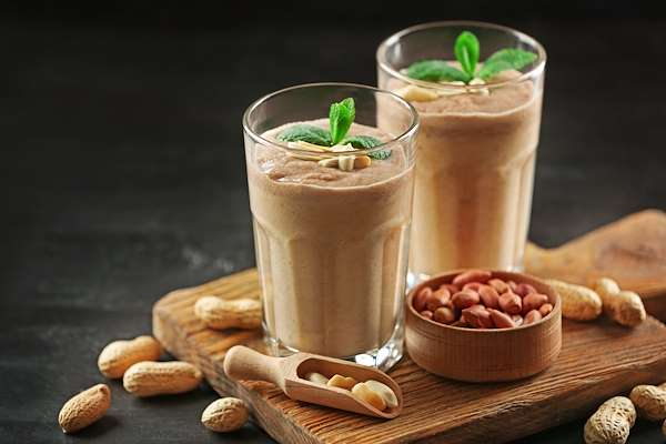 Peanut Butter & Chocolate Milkshake Recipe