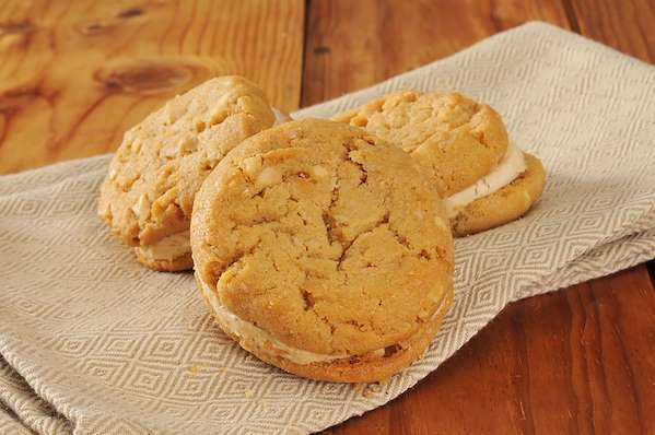 Peanut Butter Cookie Sandwiches Recipe