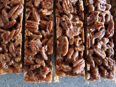 Pecan & Coconut Bars Recipe