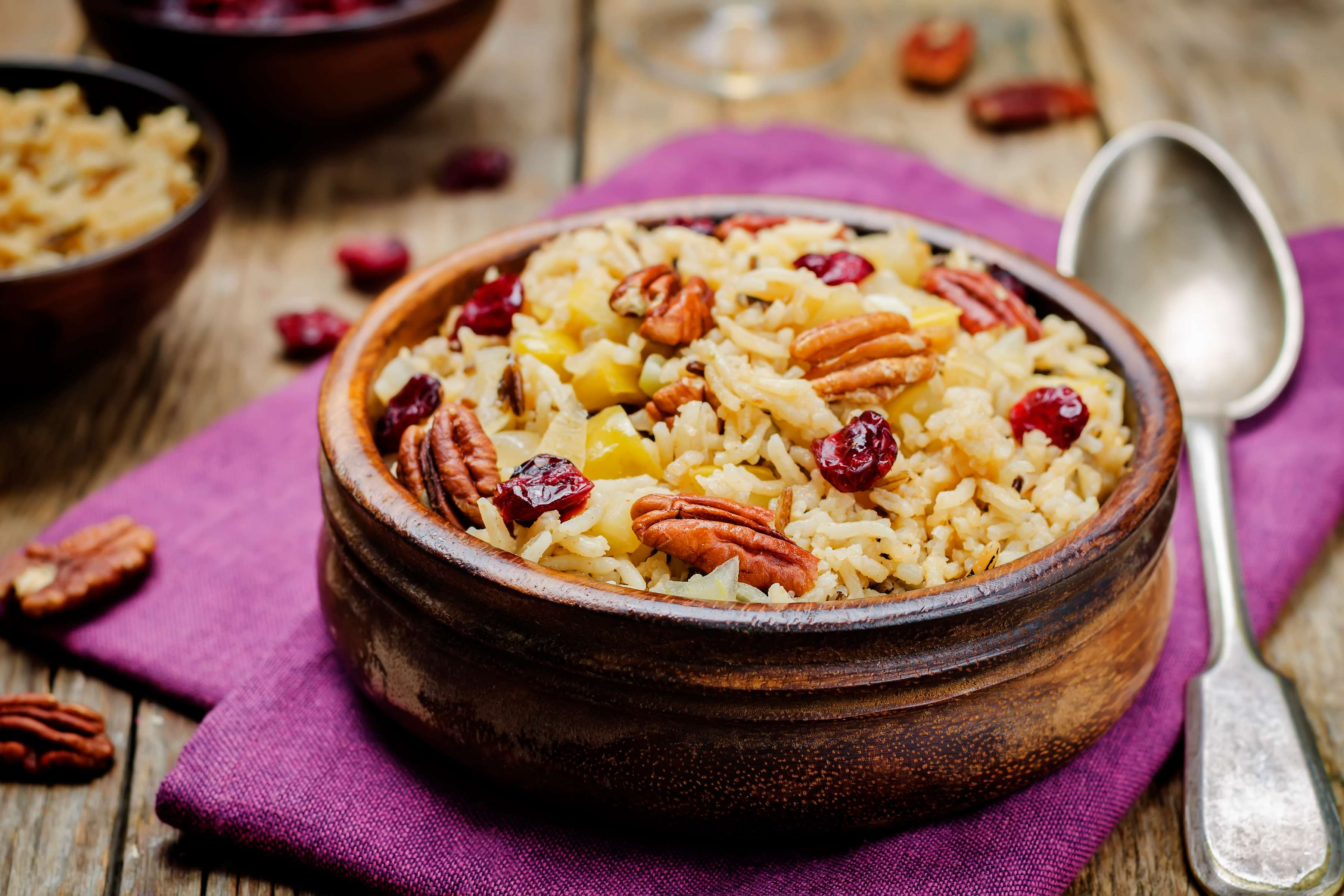 Pecan Pilaf Recipe | RecipeSavants.com