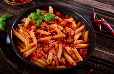 Penne Pasta With Arrabiata Sauce Recipe