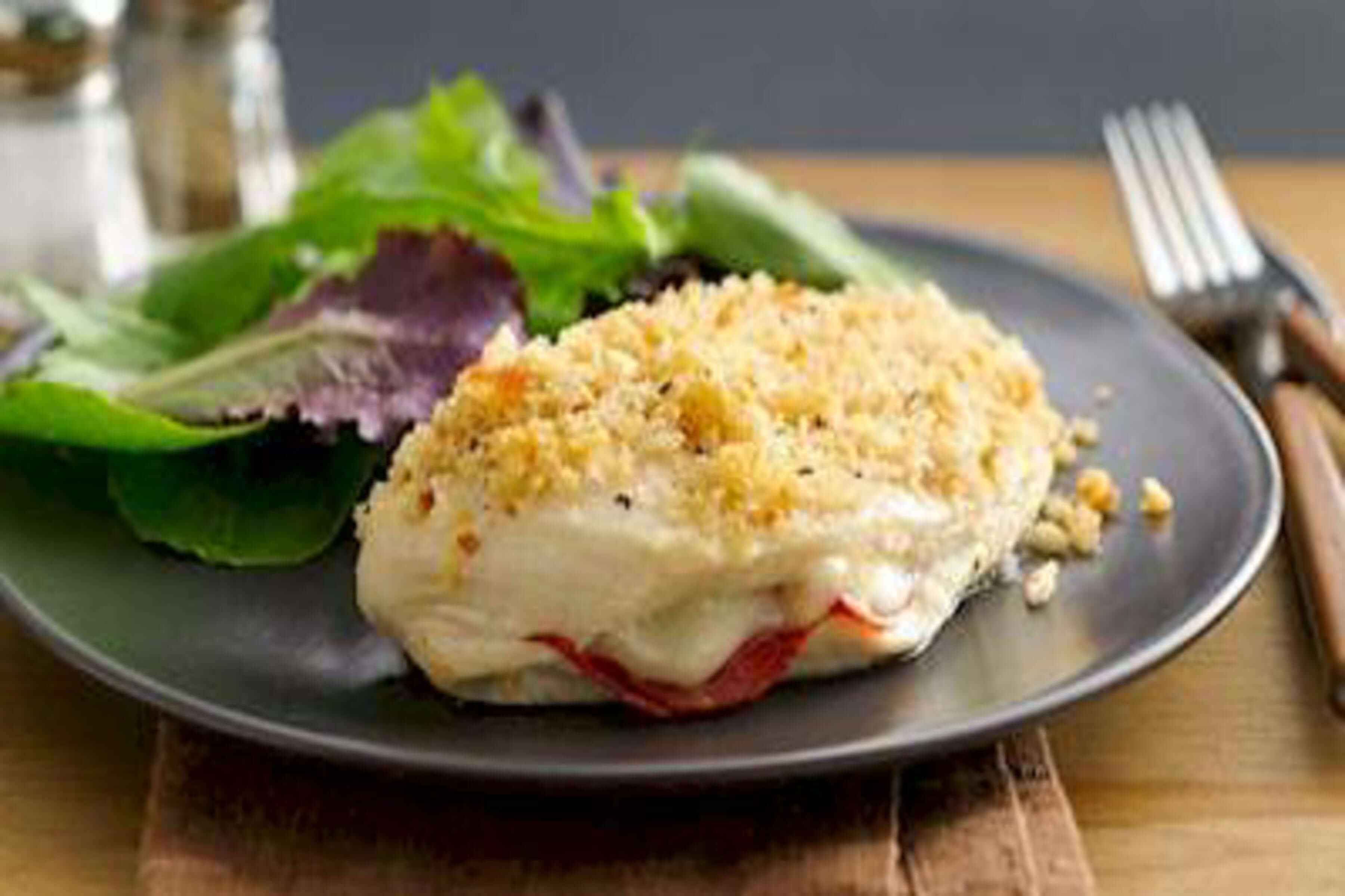 Pepperoni-Stuffed Chicken Breasts Recipe