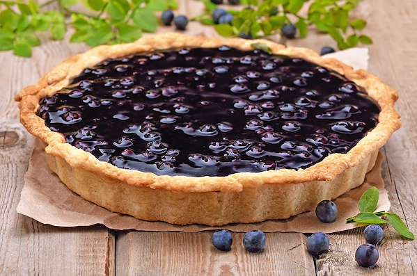 perfect blueberry pie Recipe Of The Day