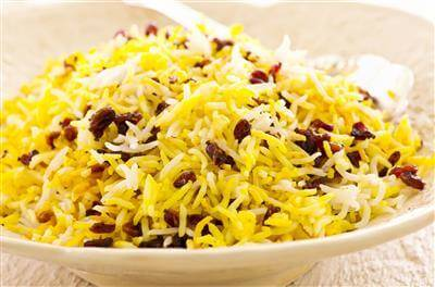 Easy Persian Saffron Rice Recipe