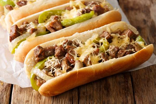 Homemade Philly Style Steak Hoagies Recipe