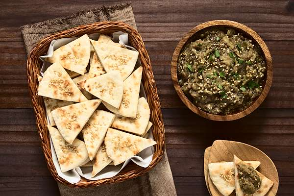 RecipeSavants - Recipe of the Day Pita Chips