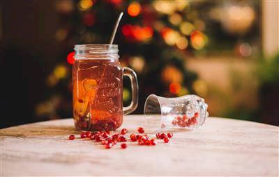Pomegranate & Lime Iced Tea Recipe