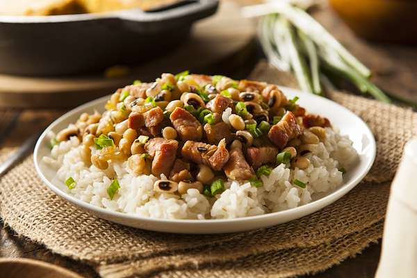 Pork & Black-Eyed Peas Recipe
