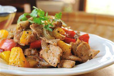 Pork & Peppers Recipe
