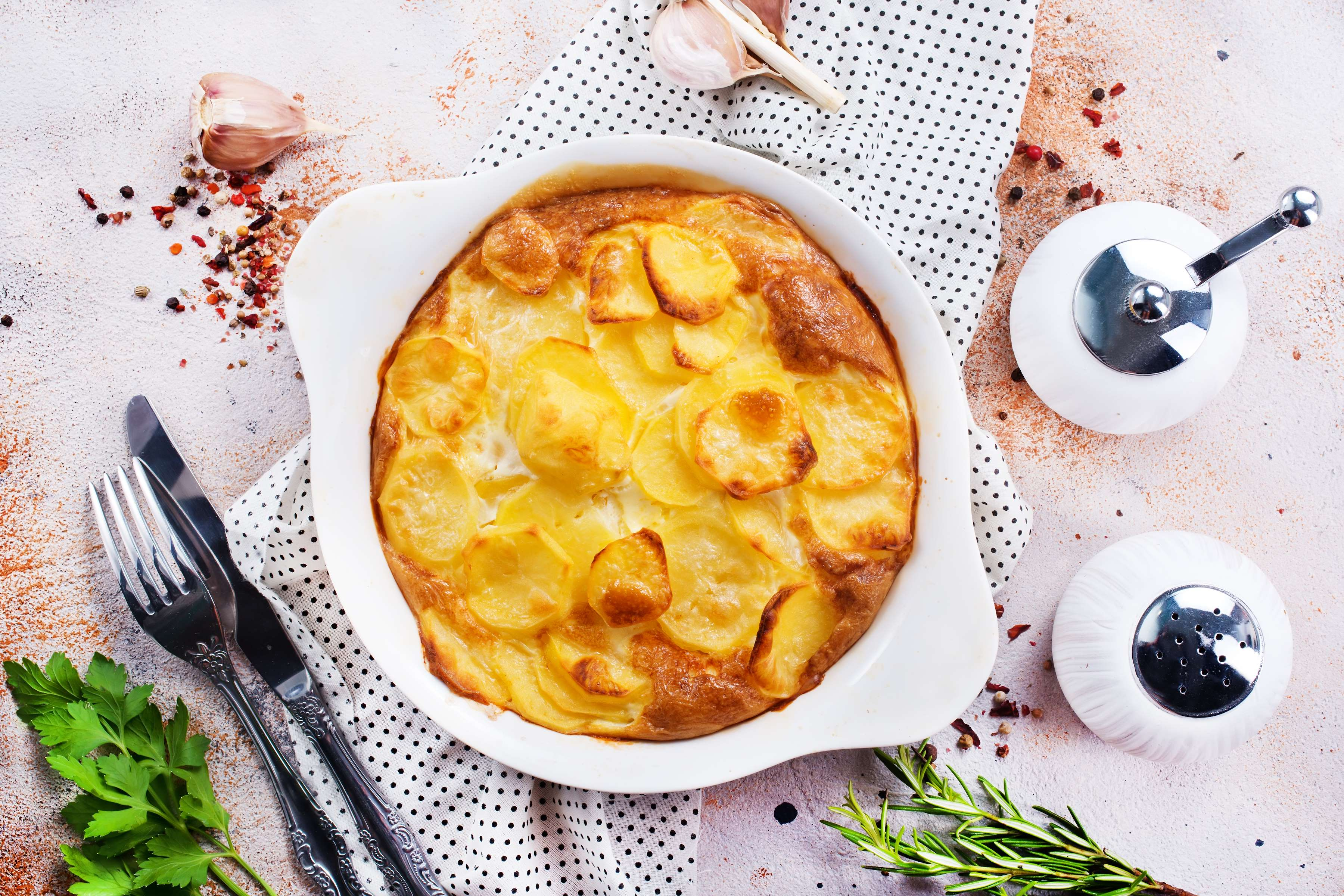 Potato Gratin Recipe | RecipeSavants.com