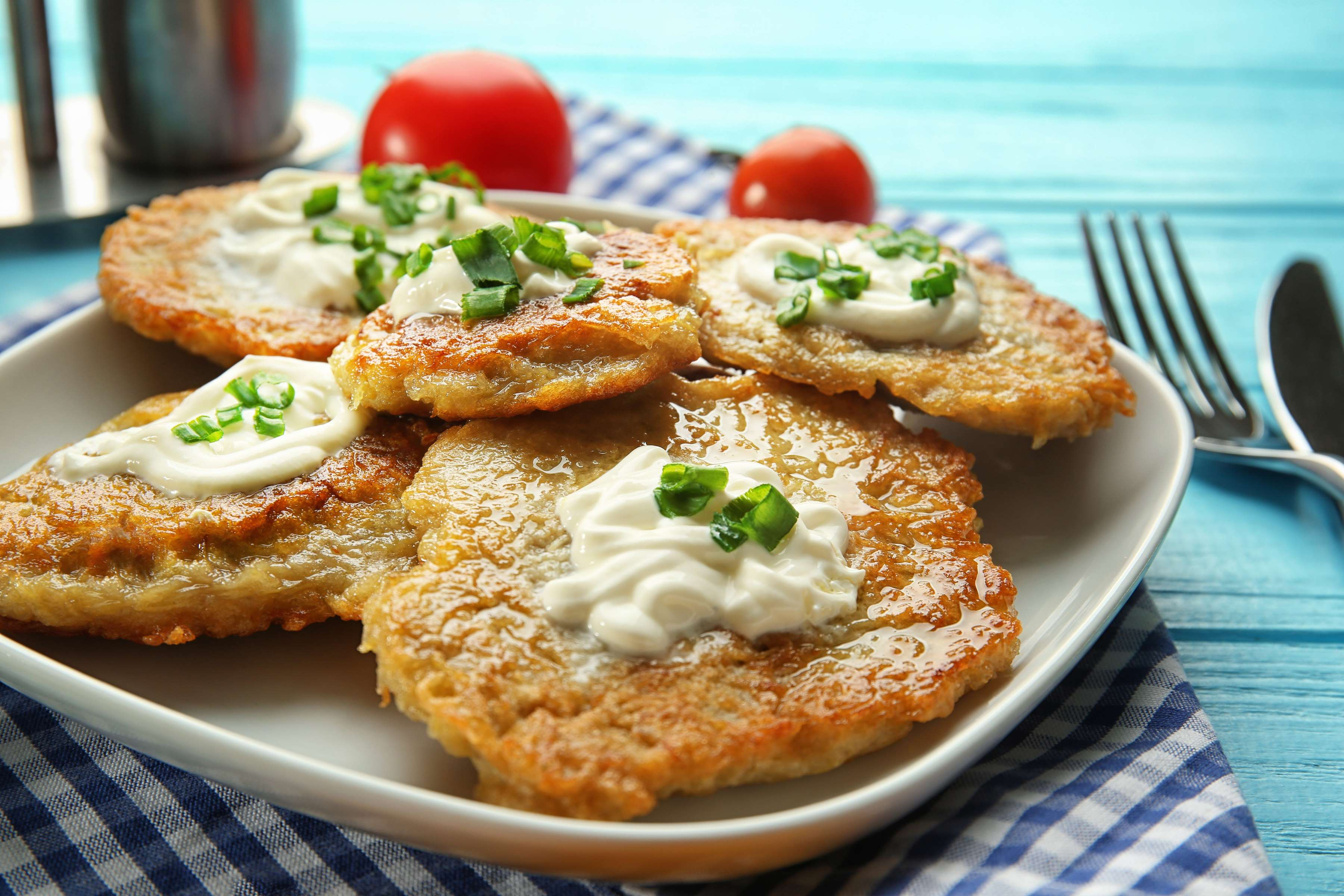Potato Pancakes Recipe | RecipeSavants.com