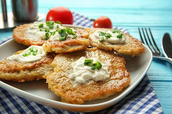 RecipeSavants - Potato Pancakes