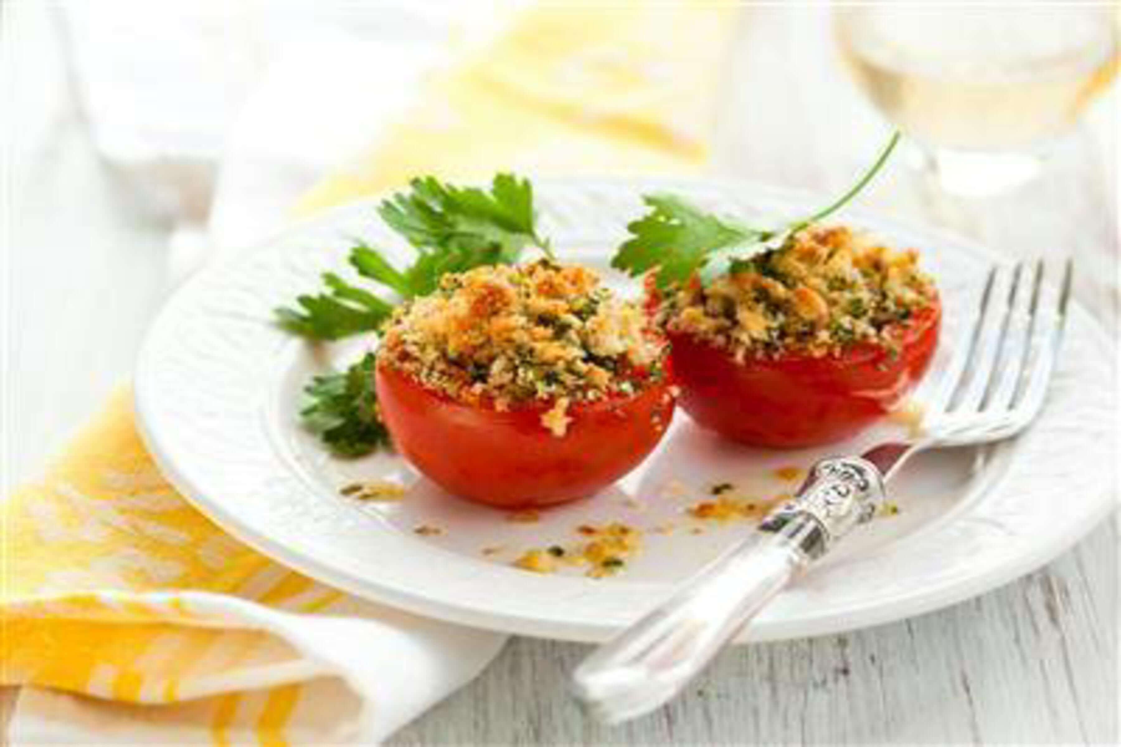 Provencal Tomatoes Recipe | RecipeSavants.com