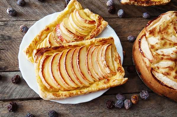 Recipe Savants - Puff Pastry Apple Tart