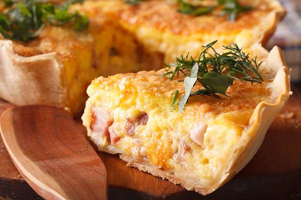 Recipe Savants - Quiche Lorraine