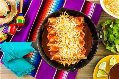 Orginal Recipe For Quick & Easy Enchiladas - easy American recipe easy Beef recipe