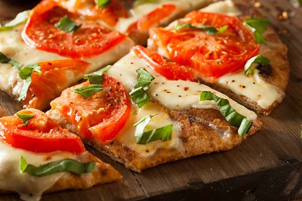 Quick Flatbread Pizzas Recipe
