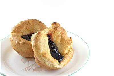Raspberry Popovers Recipe