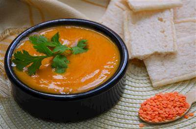 Red Lentils & Squash Soup Recipe