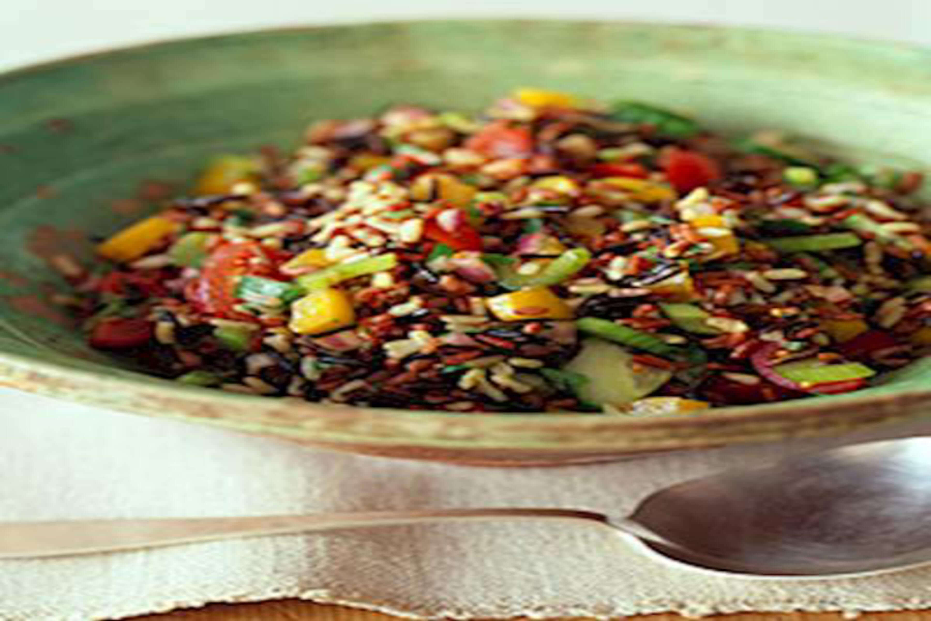 Rice Salad With Balsamic Dressing Recipe