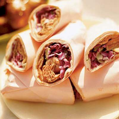 Roast Beef Wraps Recipe