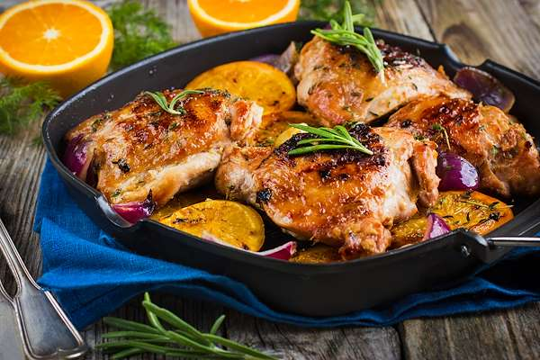 Roast Provencal Chicken Recipe