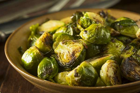 ChefBear Complete Meals - roasted brussels sprouts