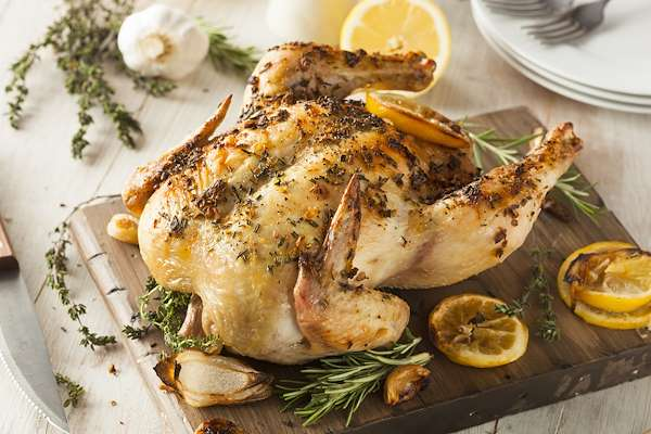 ChefBear Complete Meals - roasted chicken with lemon & thyme