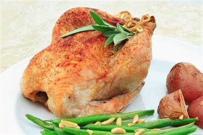 Recipe Savants - Roasted Cornish Game Hens
