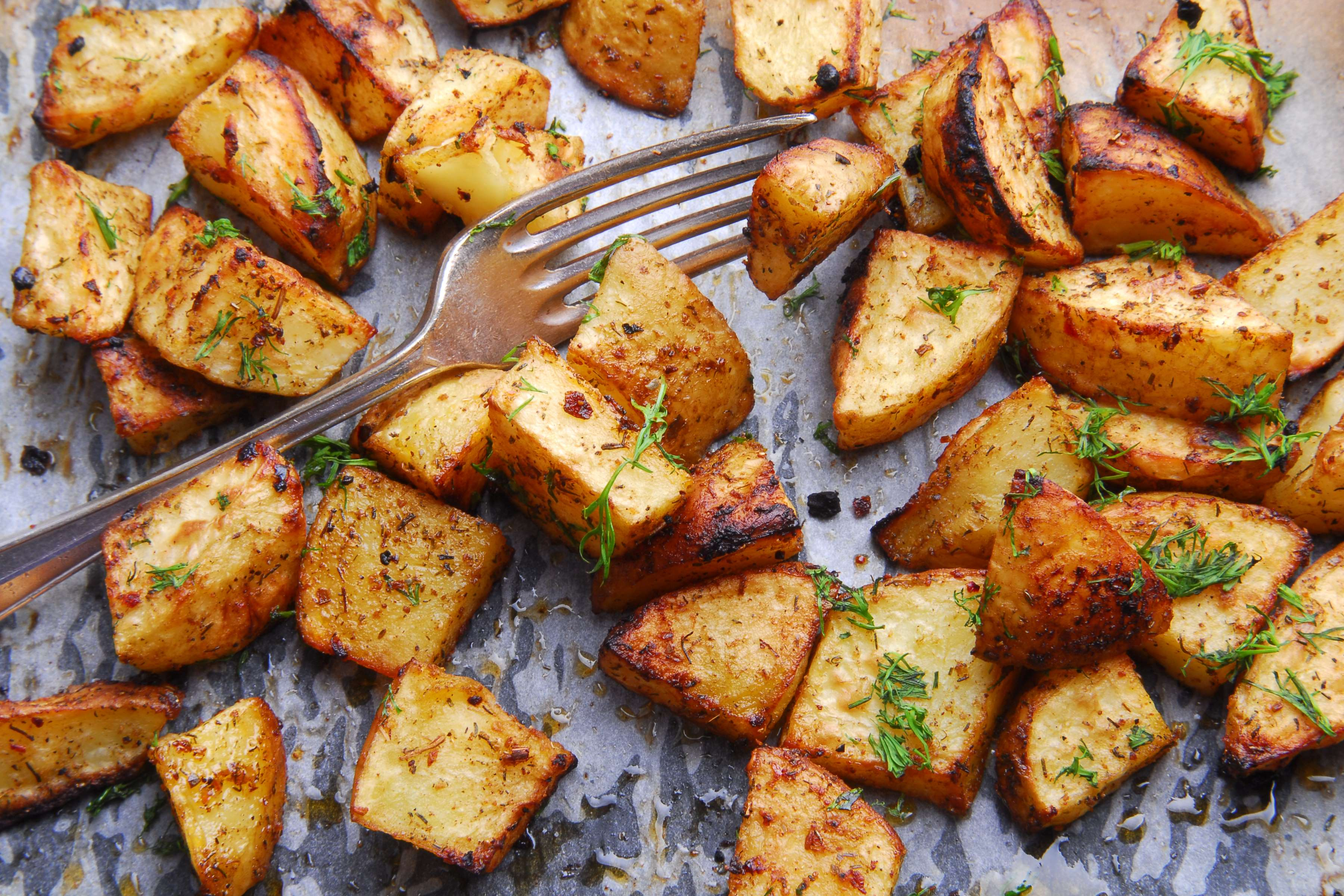 Roasted Potatoes Recipe | RecipeSavants.com