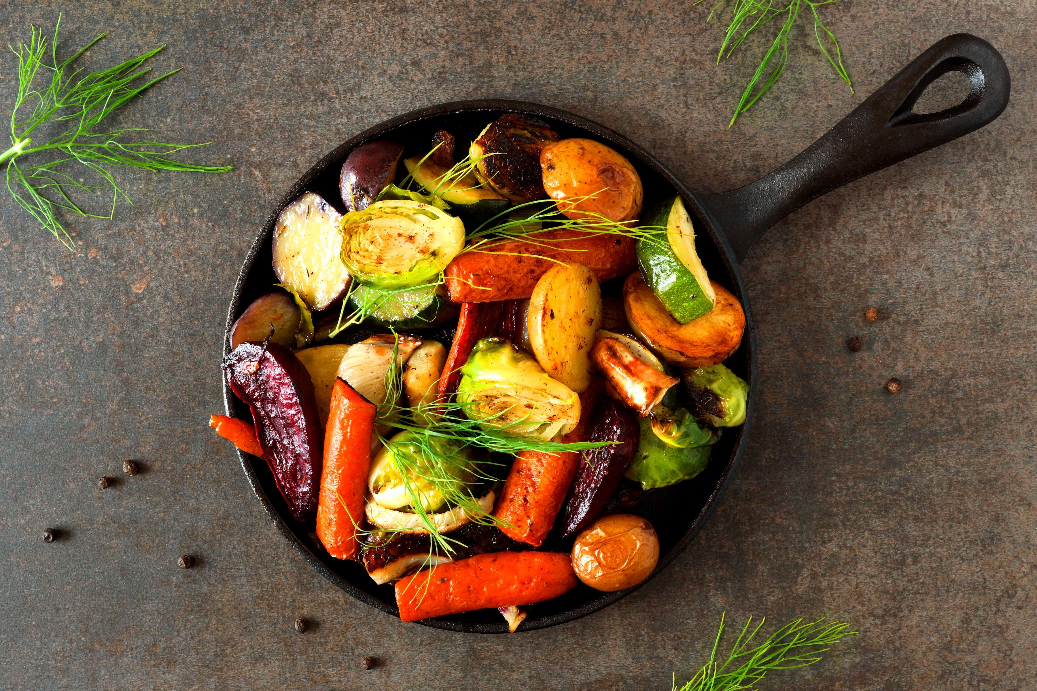 Roasted Root Vegetables Recipe | RecipeSavants.com