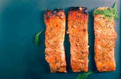 Roasted Tangerine Salmon Recipe