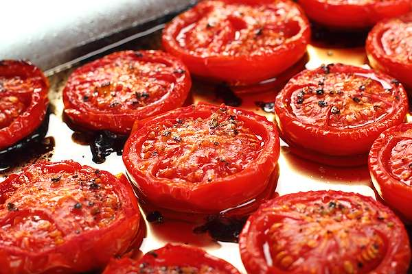 Roasted Tomatoes In Garlic Oil Recipe