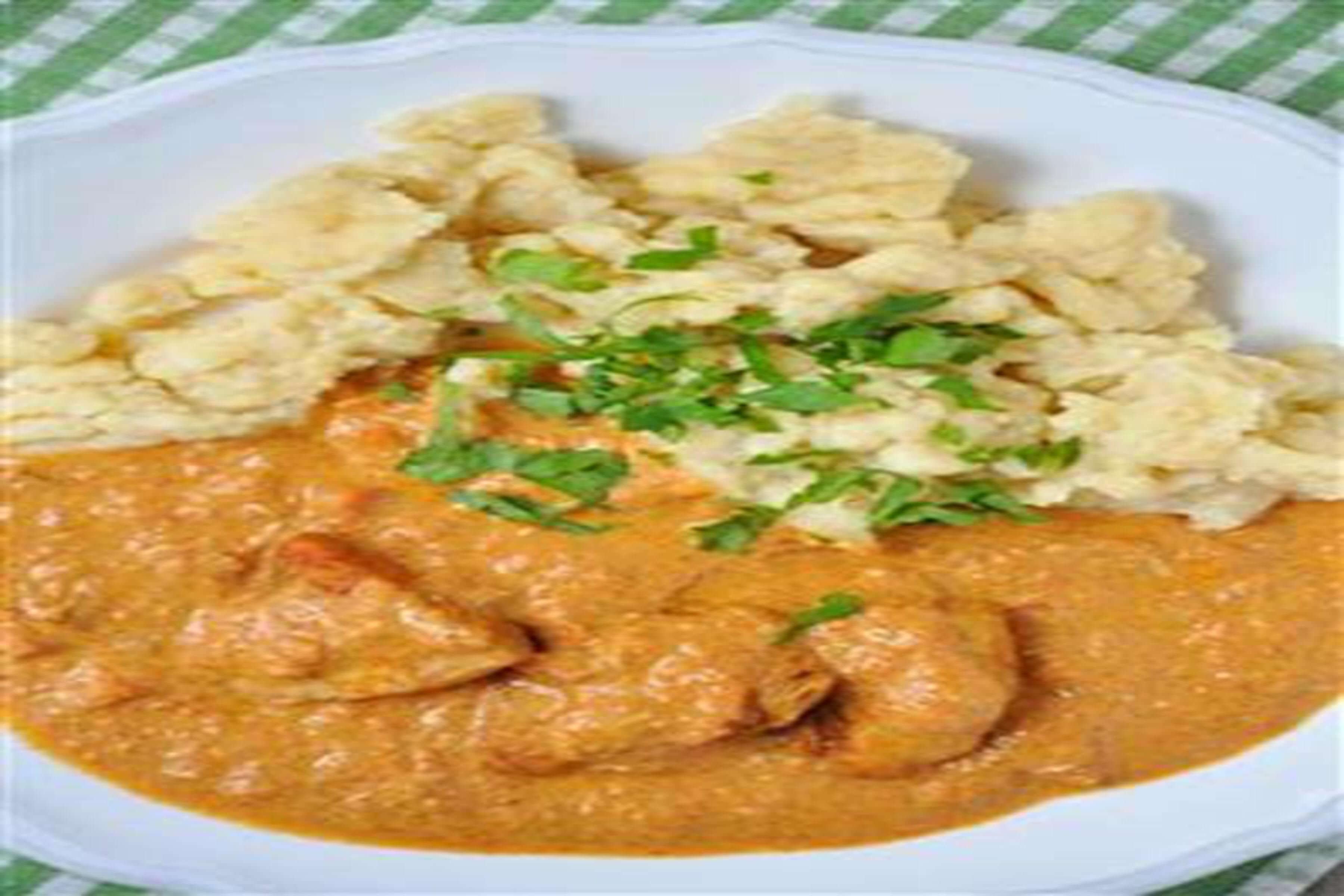 Romani Chicken Paprikash With Homemade Dumplings Recipe