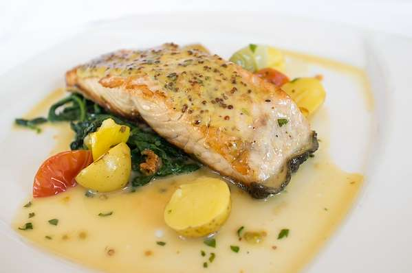 Salmon With Mustard Sauce Recipe