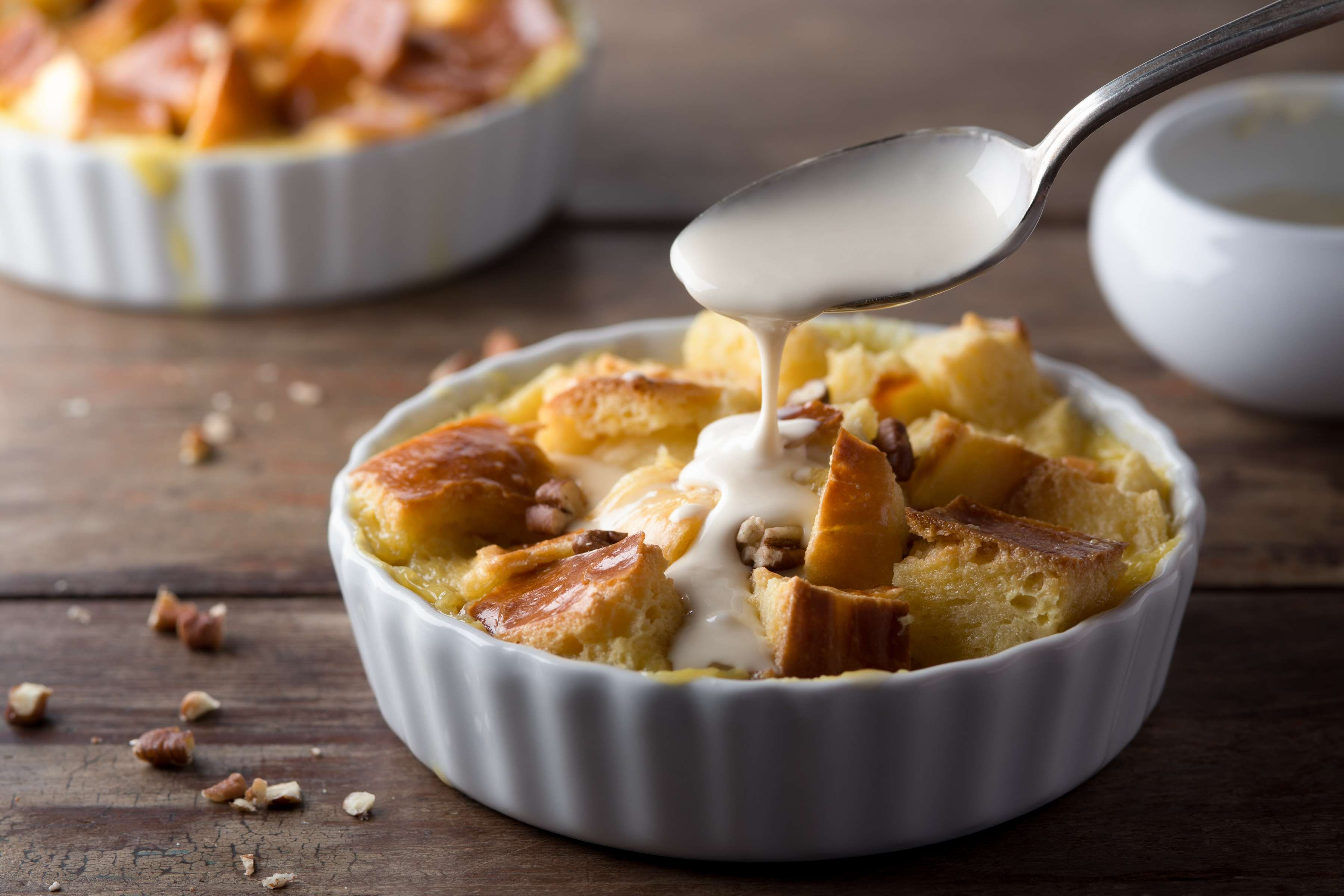 Salted Caramel Bread Pudding Recipe | RecipeSavants.com