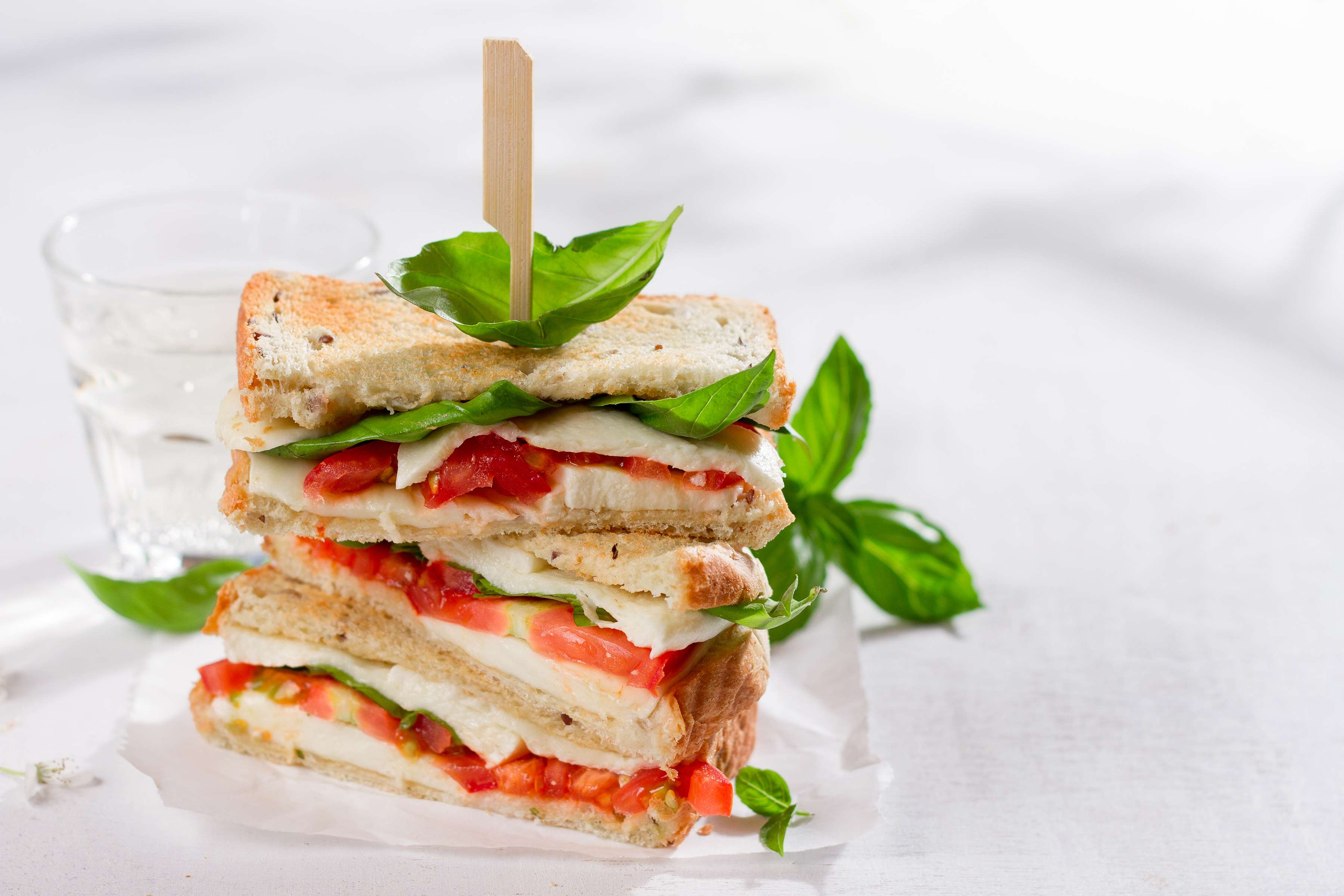 Sandwich A La Caprese Recipe | RecipeSavants.com
