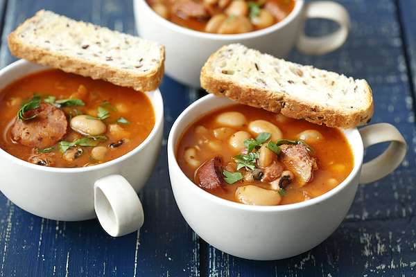 RecipeSavants - Sausage & Beans Soup