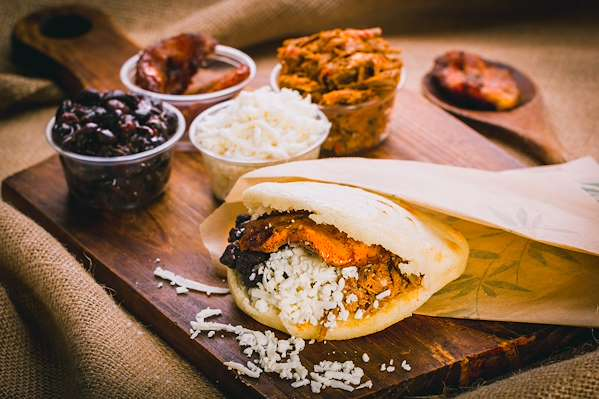 ChefBear Complete Meals - savory vegetable arepa filling