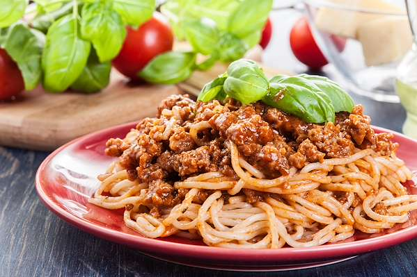 Recipe Savants - Shortcut Spaghetti Bolognese