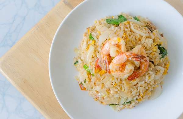 Shrimp & Green Onion Rice Recipe