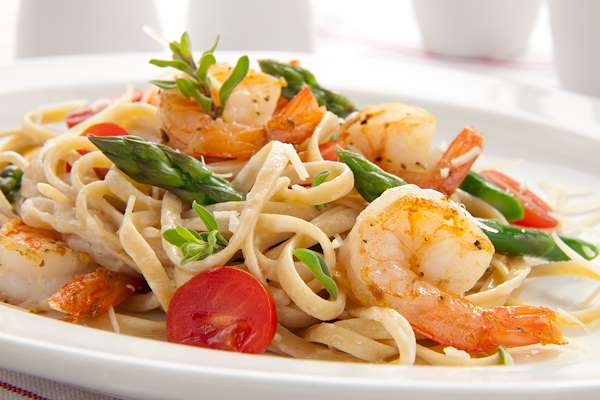 Simple Shrimp Linguini Recipe