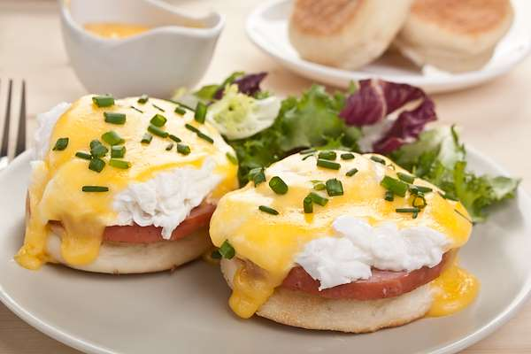 simple yet delicious eggs benedict Recipe Of The Day