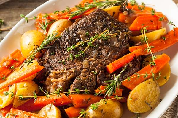 Slow Cooked Beef Pot Roast Recipe
