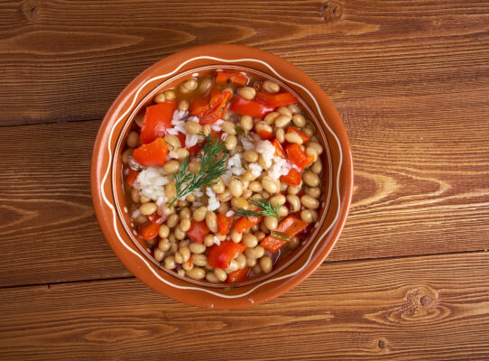 Recipe Savants - Slow-Cooked Navy Beans