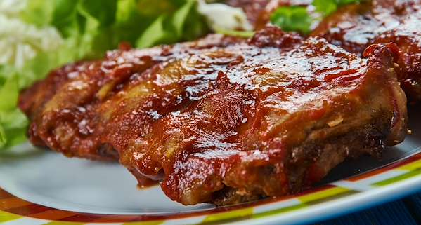 Slow Cooker Barbecue Pork Ribs Recipe
