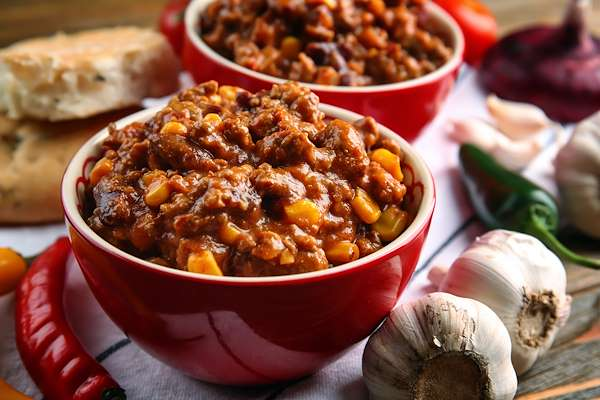 Recipe Savants - Slow Cooker Chorizo Chili