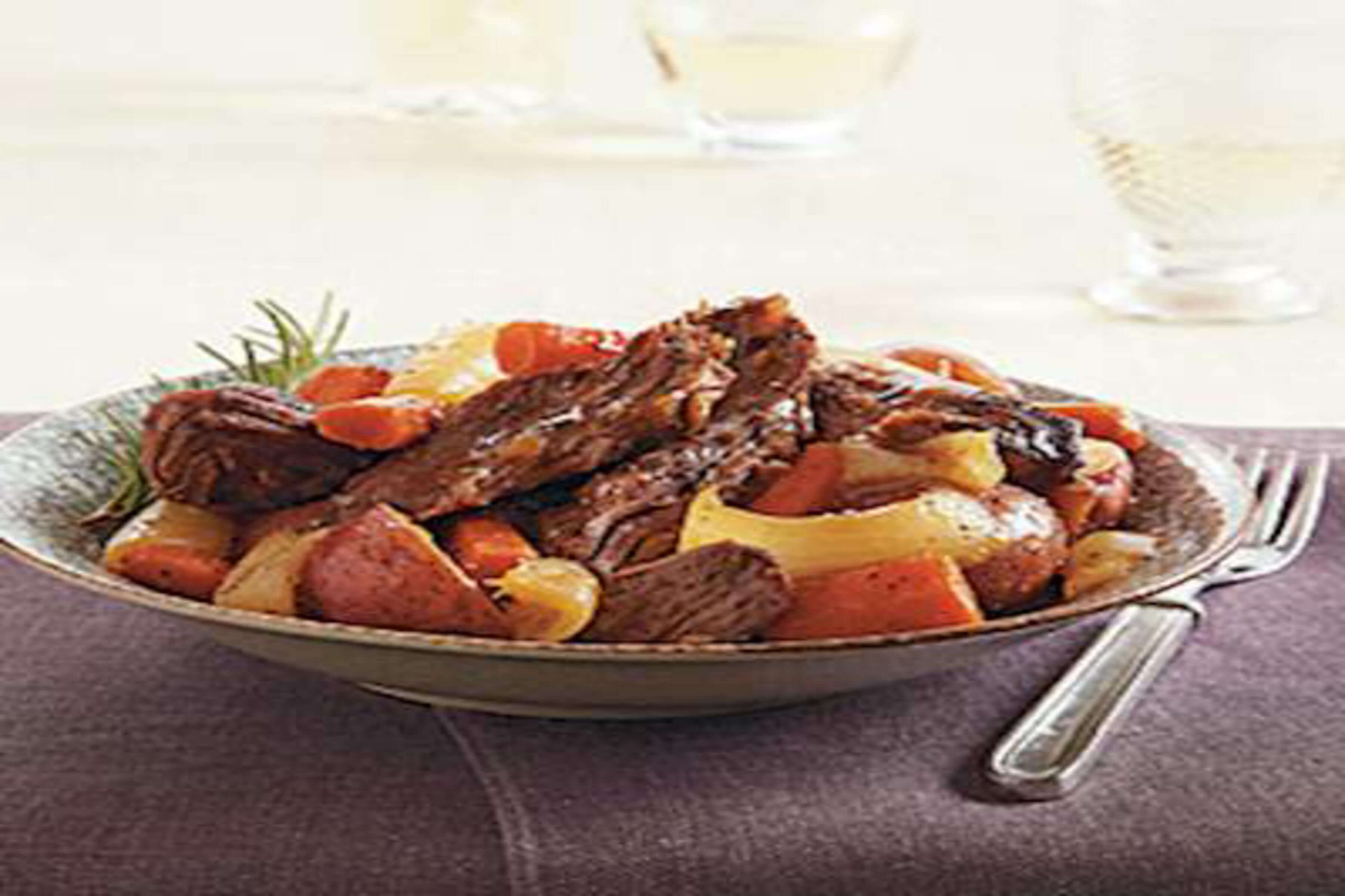 Slow Cooker Pot Roast Recipe | RecipeSavants.com
