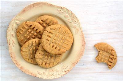 Orginal Recipe For Soft Peanut Butter Cookies - easy American recipe easy Eggs,Dairy,Grains recipe