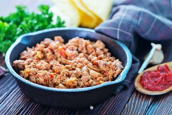 Soft Shell Ground Turkey Tacos Recipe